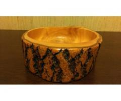 Vas de lemn artizanal