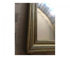 Oglinda cu rama originala de lemn