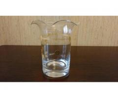 Vaza din cristal cu aur coloidal
