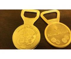2 desfacatoare din bronz