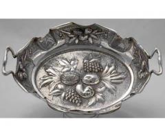 Fructiera argint 800 anul 1890