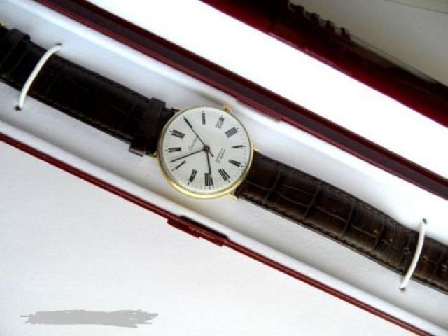 ceas de mina aur 14k barbati
