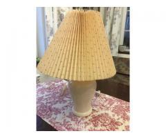 Lampa de masa din portelan