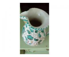 Carafa .vaza din cermica Deruta,Italia