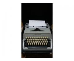 vand masina de scris Scheidegger