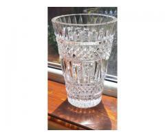Vaza mare de Cristal de Boemia, model modern - 160lei