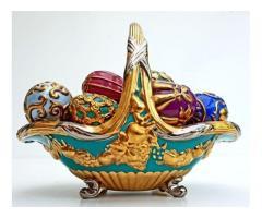Fabergè- Coș de toamnă cu ouă