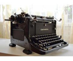 Masina de scris Continental 1934
